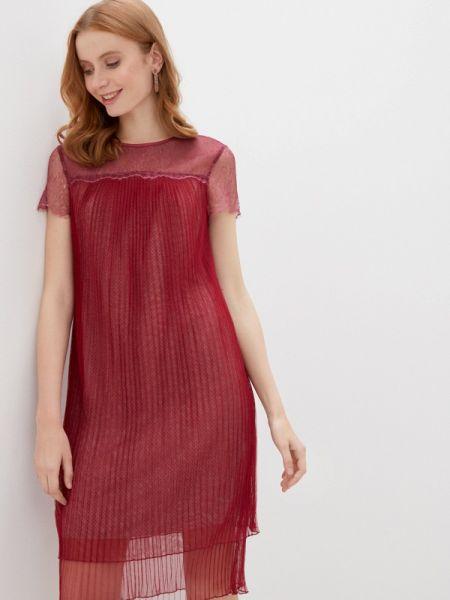 Красное вечернее платье Alexander Bogdanov