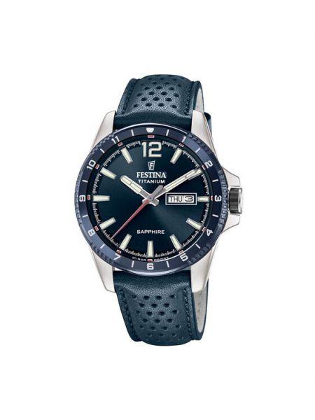 Zegarek sportowy granatowy Festina