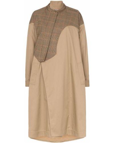 Пальто с капюшоном из верблюжьей шерсти Preen By Thornton Bregazzi