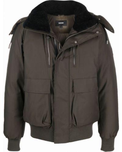 Куртка с капюшоном - зеленая Mackage