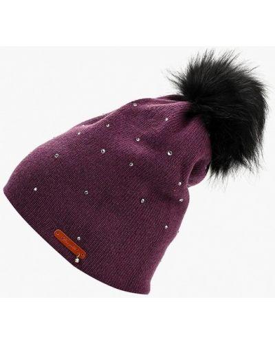 Фиолетовая шапка осенняя Noryalli