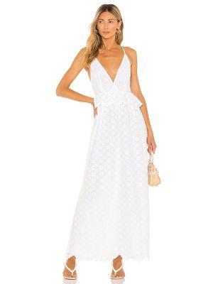 Biała sukienka bawełniana Tularosa