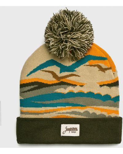 Зимняя шапка с помпоном из джерси True Spin