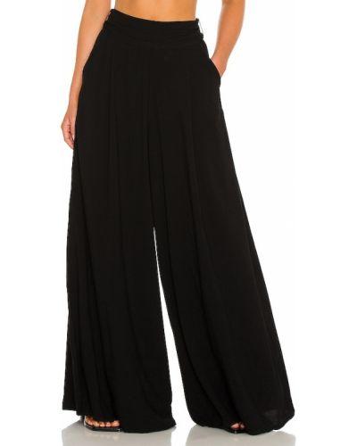 Lniane czarne spodnie Atoir