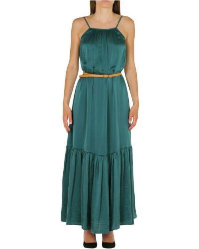 Zielona sukienka długa Alessia Santi