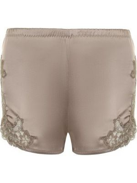 Короткие шорты - коричневые Cotton Club