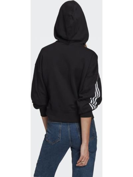 Кроп-топ - черный Adidas