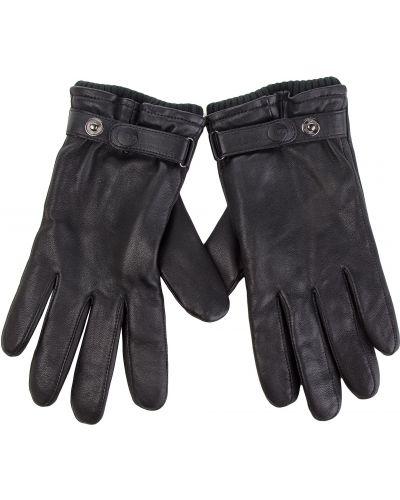Skórzany rękawiczki czarny Ugg