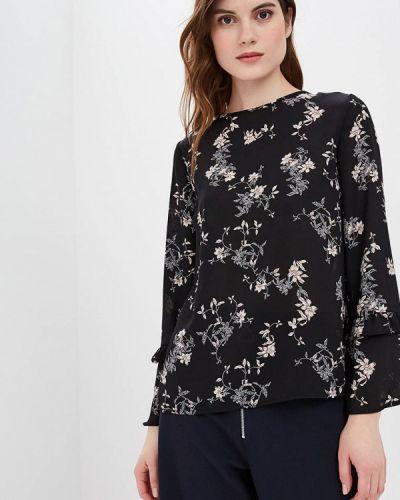 Блузка с длинным рукавом черная Iwie