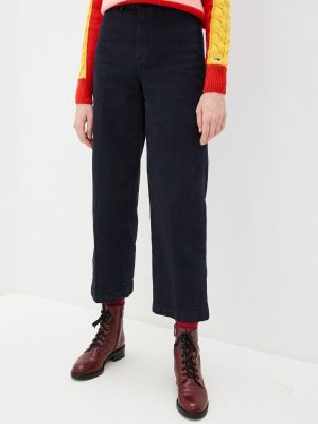 Широкие джинсы расклешенные синие Tommy Hilfiger