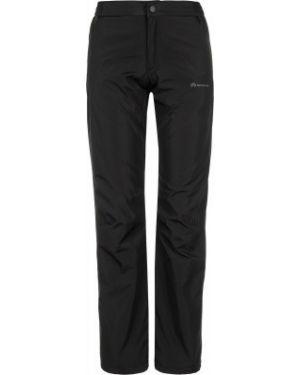 Спортивные прямые черные теплые брюки Outventure