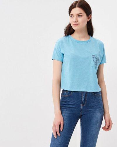 Голубая футболка Colin's
