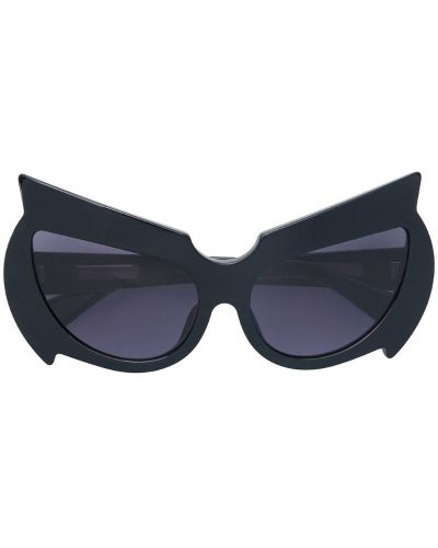 Солнцезащитные очки черные хаки Fakbyfak