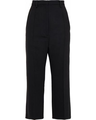 Spodnie wełniane - czarne Mm6 Maison Margiela