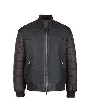 Кожаная куртка коричневый Diego M