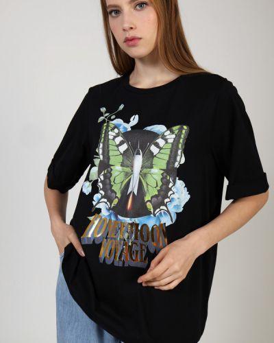 Хлопковая футболка Twin-set