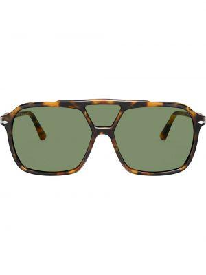 Солнцезащитные очки свободного кроя квадратные хаки Persol