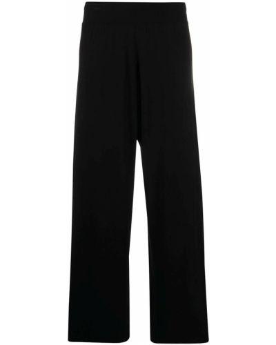 Трикотажные черные брюки Stefano Mortari