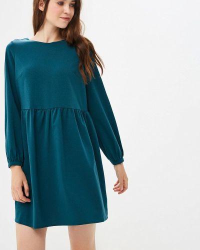 Платье осеннее зеленый Befree
