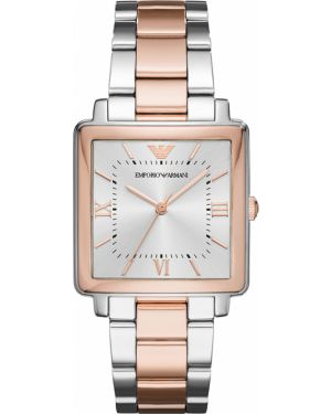 Zegarek plac srebrny Emporio Armani