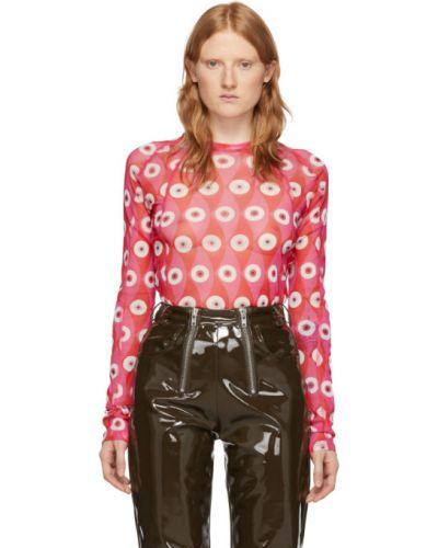 Черная нейлоновая рубашка с воротником с сеткой Gmbh