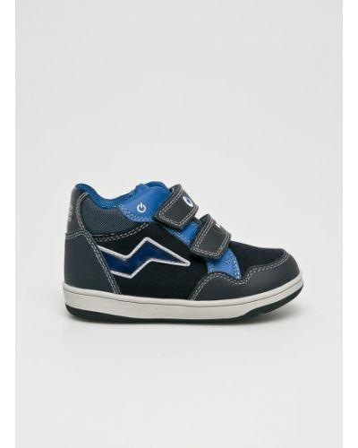 Туфли кожаные текстильные Geox
