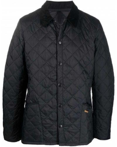 Черная куртка из полиэстера Barbour