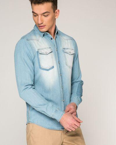 Джинсовая рубашка однотонная Blend