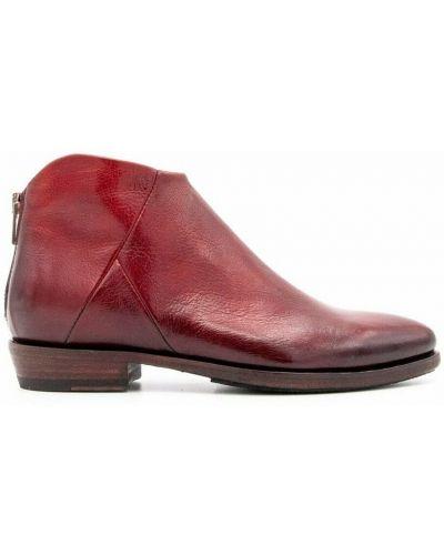 Czerwone ankle boots Pantanetti
