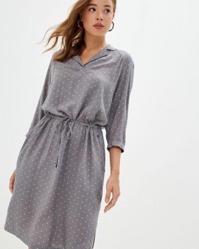 Расклешенное платье - серое Finn Flare