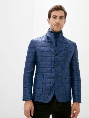 Утепленная синяя куртка Btc
