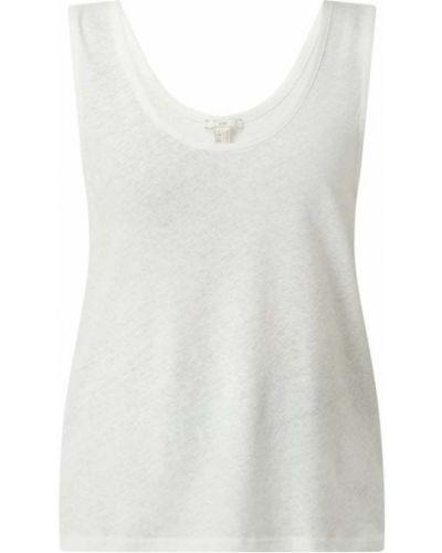 Biały top bawełniany Edc By Esprit