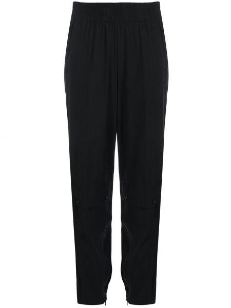 Спортивные брюки с поясом черные Adidas By Stella Mccartney