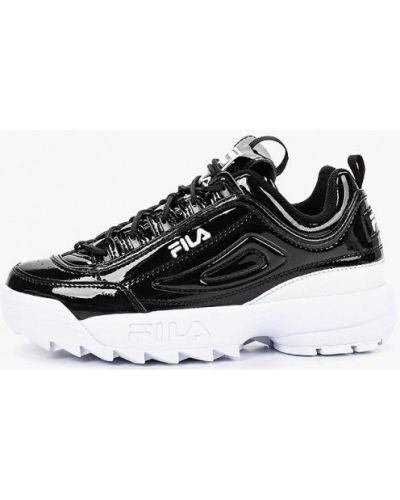 Кроссовки черные Fila