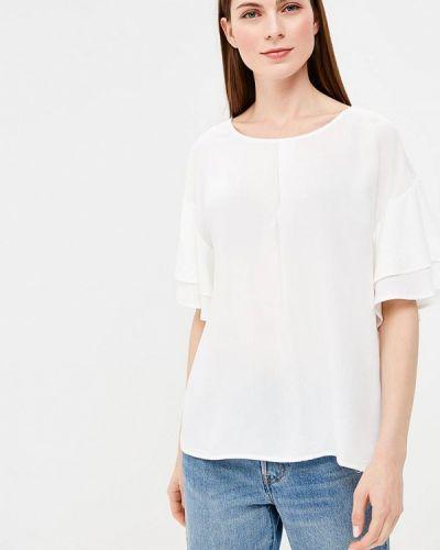 Белая блузка с рюшами S.oliver