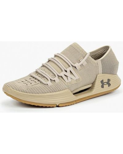Бежевые кроссовки низкие Under Armour