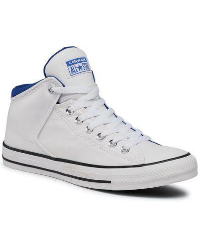 Białe trampki wysokie Converse