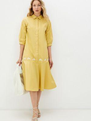 Платье - желтое Akhmadullina Dreams
