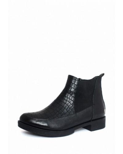 Кожаные ботинки черный Blizzarini