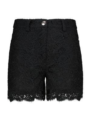 Хлопковые шорты - черные Staud
