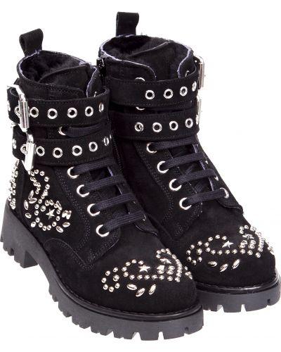 Черные ботинки Ermanno Scervino