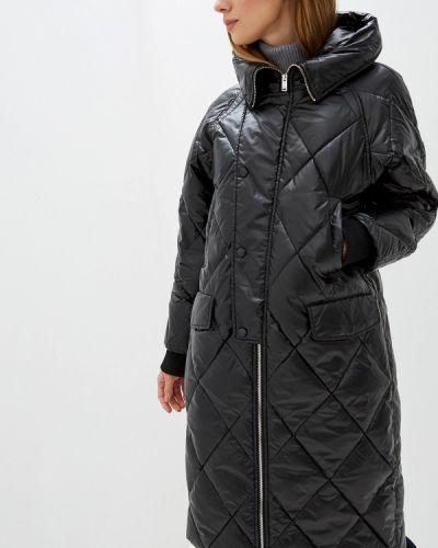 Зимняя куртка черная осенняя Silvian Heach