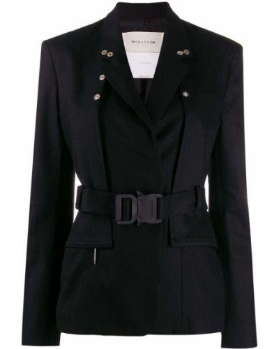 Черный удлиненный пиджак 1017 Alyx 9sm