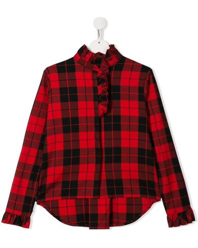Рубашка черный с узором Lapin House