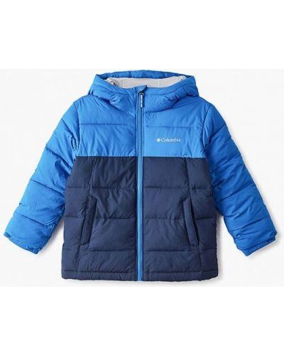 Куртка теплая синий Columbia