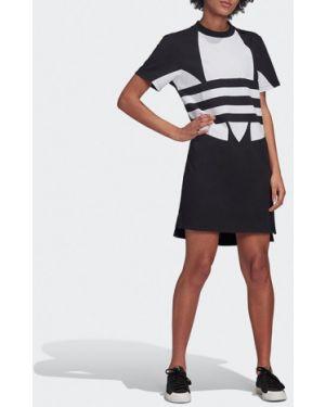 Платье черное большой Adidas Originals