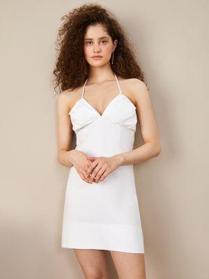 Белое хлопковое платье 12storeez