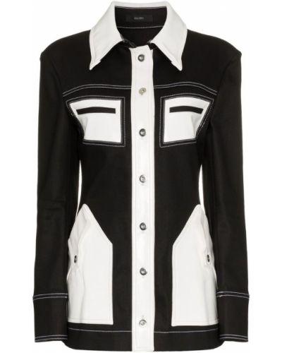 Черная джинсовая куртка Ellery