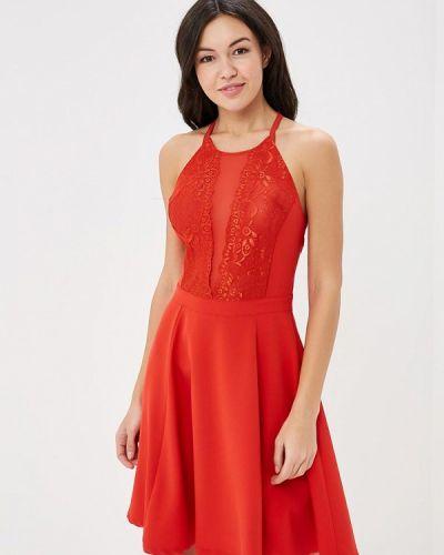 Красное платье Met