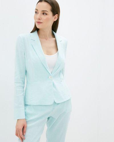 Бирюзовый пиджак Taifun